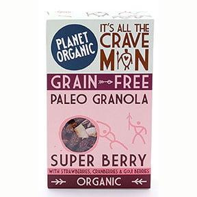 granola fruits rouges