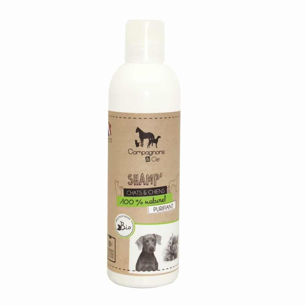 shampoing naturel chien et chat