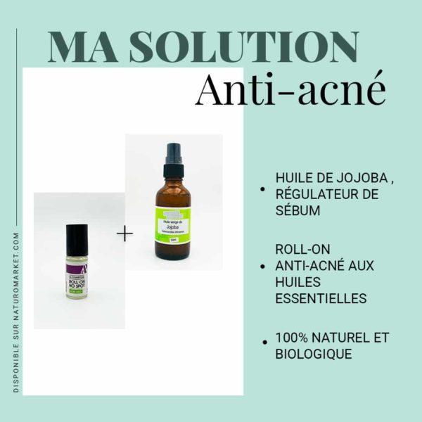 solution anti acné