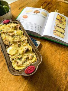 pâté forestier pommes de terre champignon