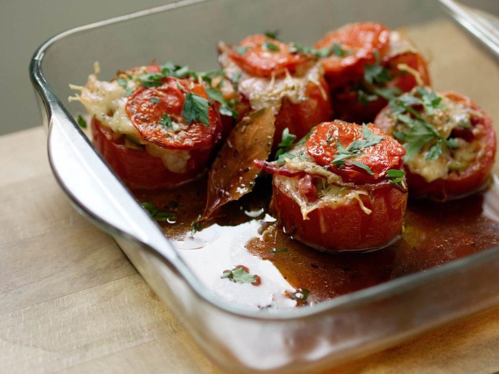 tomates farcies au four recettes