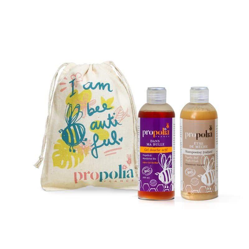 propolis shampoing gel douche