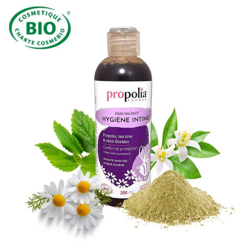 Gel d'hygiène intime Bio Propolis et Tea tree