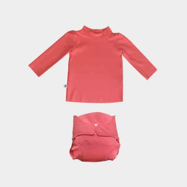t-shirt anti-UV bébé